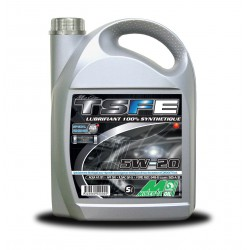 Huile moteur MINERVA TSFE 5W20 100 % synthétique Bidon 5 litres