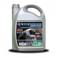 Huile moteur MINERVA SYNTHESE COMPETITION 10W40 100 % synthétique Bidon 5 litres