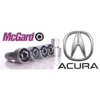 Boulon antivol de roue pour ACCURA Jantes tole acier ou jantes aluminium (Selon Année modèle)