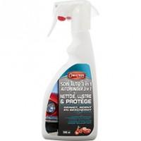 OWATROL SOIN AUTO 3 en 1 shampoing nettoyant lustrant carrosserie sans eau