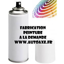 Peinture AFNOR normalisée (A la demande) référence 1002 MARRON 85-86 a 3225 CREME IVOIRE PALE 85-87