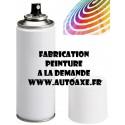 Peinture sur demande (Aérosol 400ml)