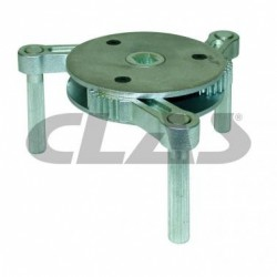 Cle filtre a huile cartouche vissée 122-155mm