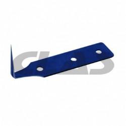 Boite 5 lames 25 mm couteau manuel de nettoyage de joint de pare brise CL-OC-0200