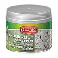 CHOUKROUT Mastic bicomposant renforcé fibre de verre (durcisseur inclus dans le kit)