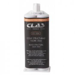Colle réparation plastique noire bi composant Cartouche 50 ml