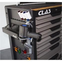 Support magnétique range outils servante atelier