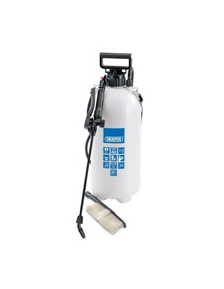 Pulvérisateur 10 litres nettoyage avec buse et brosse