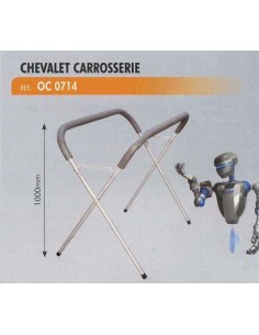 Chevalet pliant de carrosserie (hauteur 1000 mm)