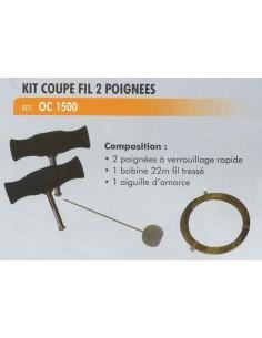 Kit coupe fil 2 poignees