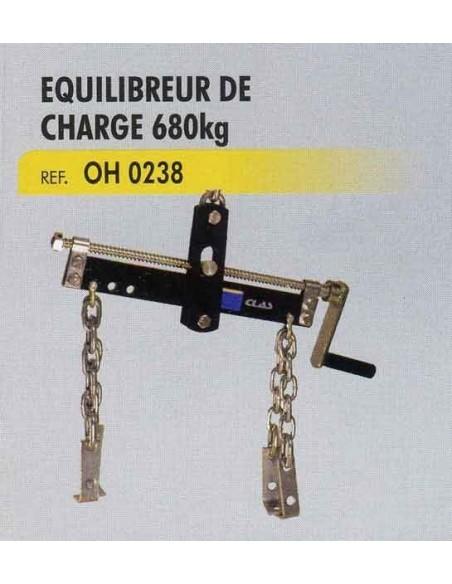 Equilibreur de charge sur chaine ou palan (charge maxi 680kg)