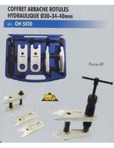 Arrache rotules hydraulique 8 Tonnes diametre 30/34/40mm