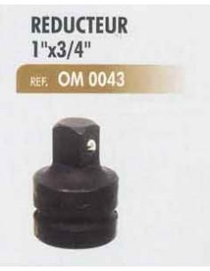 Reducteur 1 pouce x 3/4 pouce (Douille clef a choc)