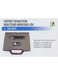 Douilles extraction injecteurs MERCEDES Sprinter/Viano/Vito/Vario CDI avant 2000 (Coffret)