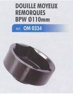 Douille moyeux remorques BPW 6.5-9t diametre 110 mm