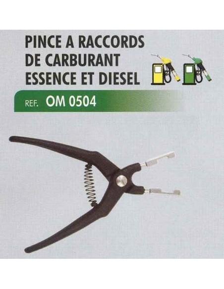Pince a raccords de carburant essence et diesel Long 150 mm