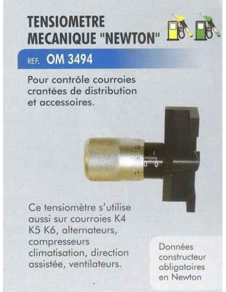 Tensiometre mecanique newton courroie distribution/alternateur/Accessoires