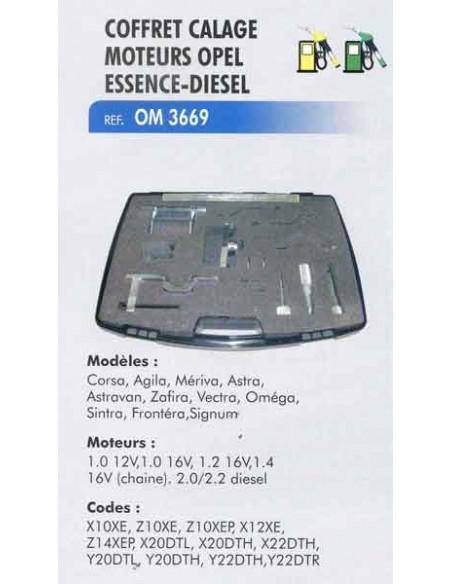 Coffret calage distribution moteur OPEL/SAAB essence-diesel