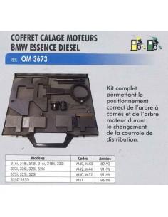 Coffret calage distribution moteur BMW/ROVER/OPEL essence diesel