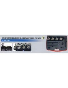 Extraction bougie préchauffage diesel M10x100 moteur RENAULT 2.0 DCI TYPE M9R
