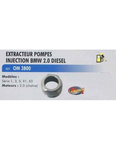 Extracteur pompes injection BMW 2.0 et 3.0 l diesel