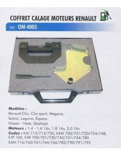 Calage distribution moteurs RENAULT / NISSAN / DACIA (Coffret outillage)