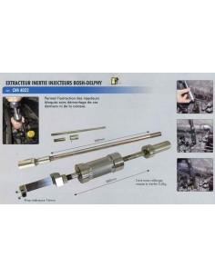 Extracteur masse inertie 3.5 kgs injecteurs BOSCH/DELPHI