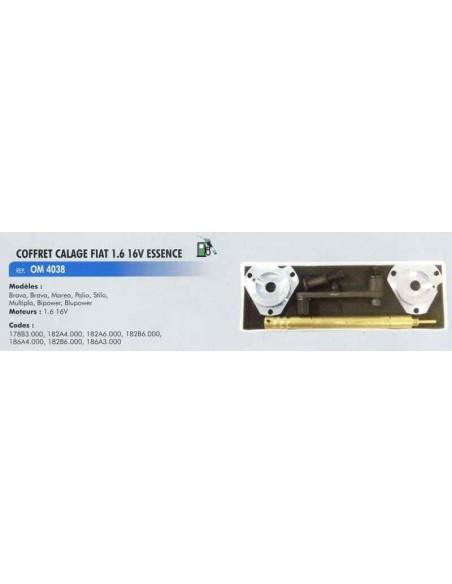 Coffret calage distribution moteurs FIAT 1.6 L 16v essence