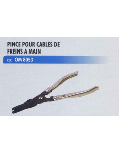 Pince cable de frein a main