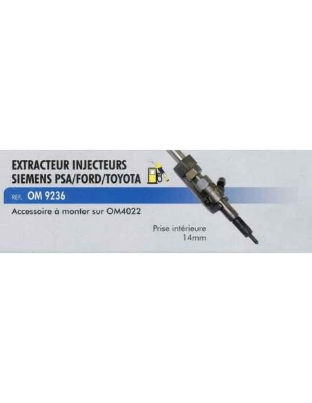 Extracteur 14 mm injecteurs siemens moteur PSA/FORD/TOYOTA (extracteur injecteur inertie CL-OM-4022/ CL-OM-4033)