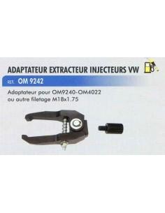 Extracteur injecteurs VW Adaptateur extracteur inertie CL-OM-4022 / CL-OM-9240