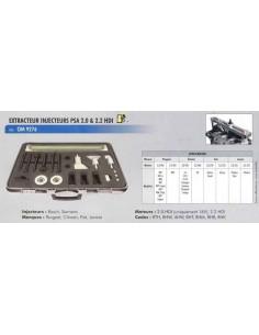 Extracteur injecteurs moteur PSA 2.0 et 2.2 hdi (PEUGEO/CITROEN/FIAT/LANCIA)