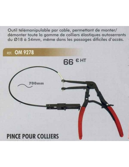 Pince colliers autoserrants