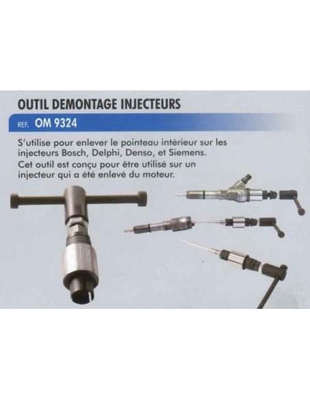 Outil demontage pointeau injecteurs BOSCH. DELPHI. Denso. Siemens