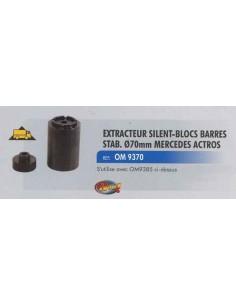 Extracteur silent-blocs barres stabilisatrice diam 70 mm MERCEDES ACTROS
