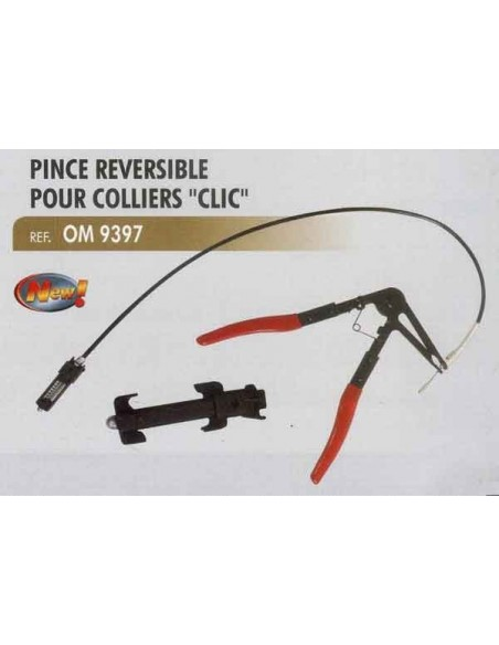 Pince reversible a cable colliers type clic