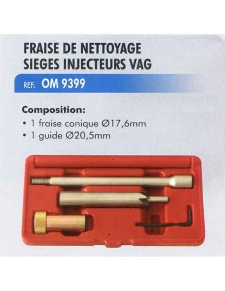 Fraise de nettoyage siege injecteur VAG. moteur 2.0TDI injection type PD Pump-Duse (Injecteur pompe)