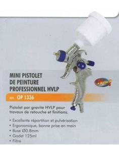 MINI pistolet de peinture professionnel hvlp