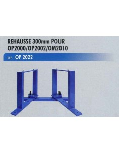 Rehausse 300 mm outillage demontage ressorts suspension