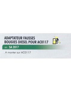 Adaptateur fausses bougies diesel test compression