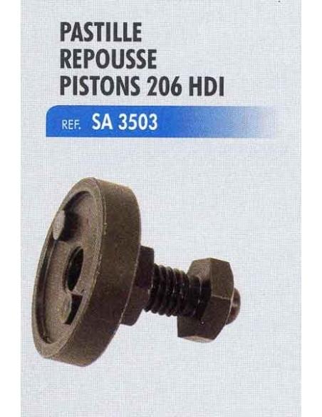 Pastille repousse piston etrier frein PEUGEOT 206 HDI