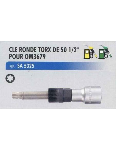Cle ronde torx de 50 1/2 pouce coffret de demontage alternateur CL-OM3679