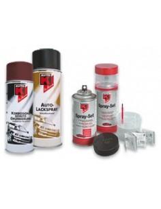 Peinture metalisee brillante Indy rouge / Le Mans bleu / Imola turquoise / Silverstone argent / Catalunya violet (Spray 400 ml)