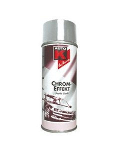 Peinture Auto K metal special effet Chrome et or pour support metal et plastiques (Spray 400 ml)