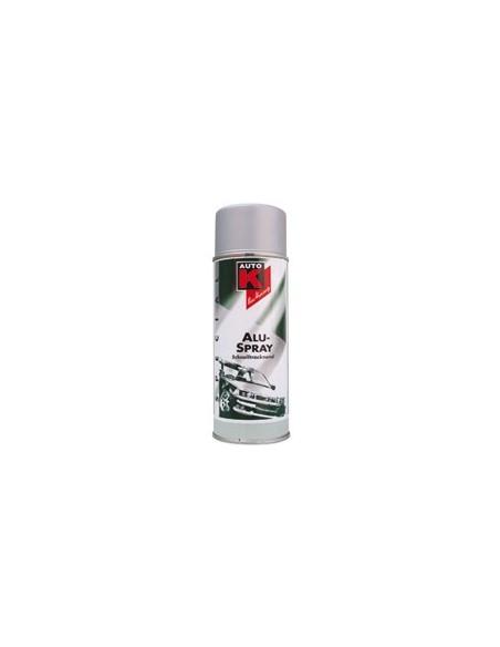 Peinture aluminium resistante 650 degres (Spray 400 ml)