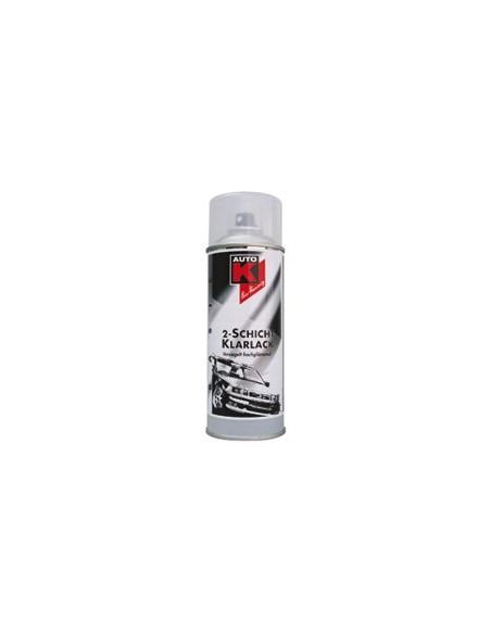 Vernis brillant résine acrylique bi-couche Auto-K pour peintures métallisées bi couches (Aérosol 400 ml)