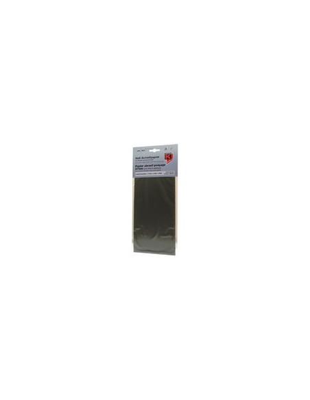Papier de verre a l eau 115 x 280 pour Metal / Plastique de carrosserie Grain au choix : P240 / 400 / 600 ou Assortiment)