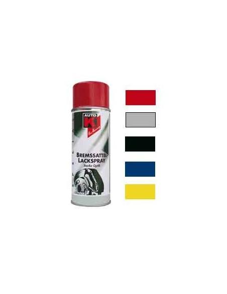 Peinture speciale etriers de frein Auto et moto Coloris rouge / jaune / bleu / noir / argent (Aerosol 400 ml)