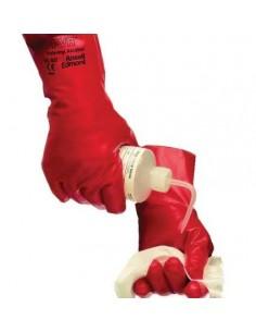 Gants de protection réutilisables Solvex PVA rouges