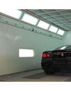 Système de ventilation cabine peinture FINAXA Air Tube Drying system